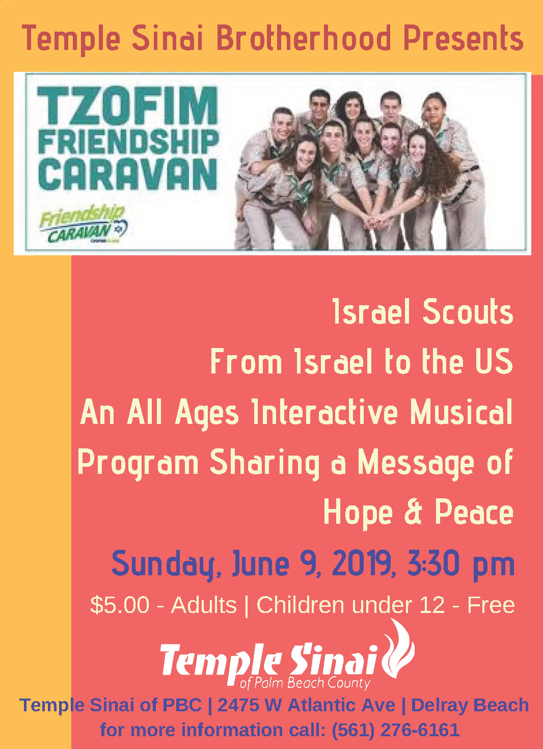 Israel scouts ad