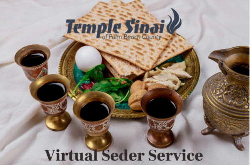 Click on Image for our Virtual Seder