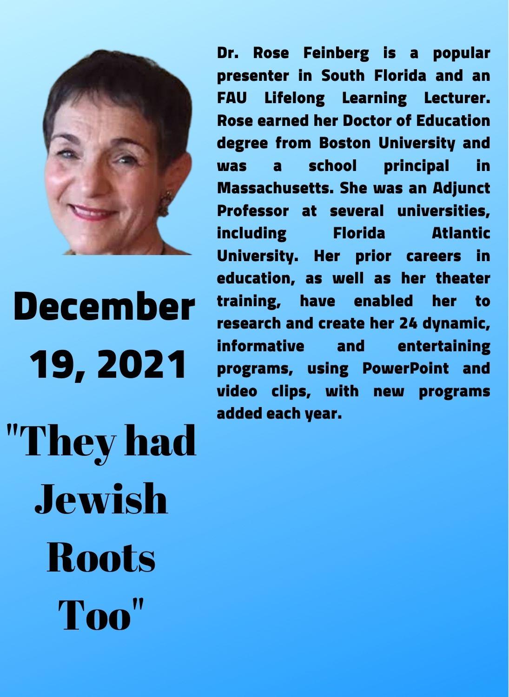 Dr. Rose Feinberg